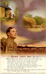 Down Texas Way songcard 2