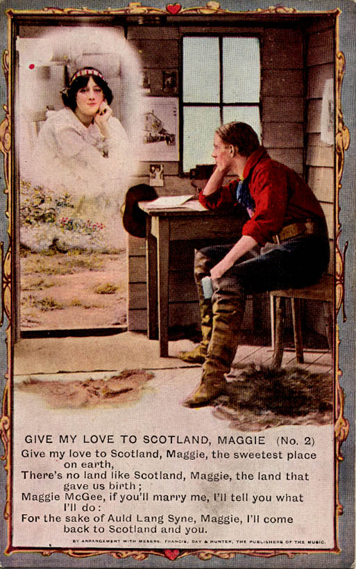 Give My Love To Scotland, Maggie